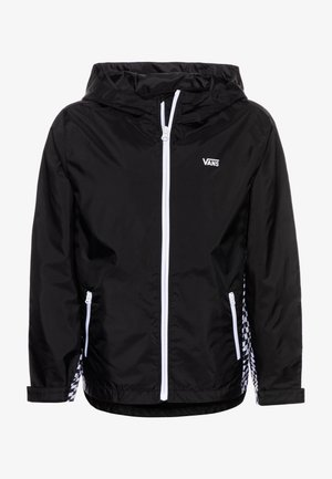 WARP CHECK BOYS - Light jacket - black