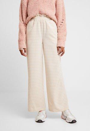 OLLY PANT - Kalhoty - beige