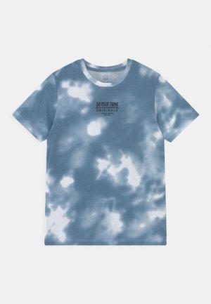JORBLURRY PLACE TEE CREW NECK JR - Triko spotiskem - blue heaven