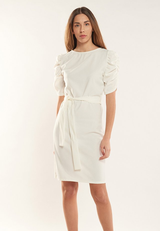MIRTA - Day dress - blanco