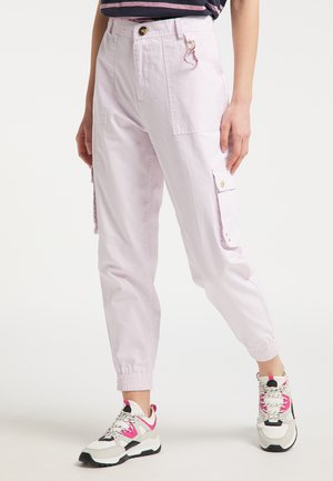 Cargo trousers - hellrosa