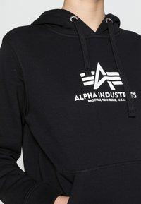 Alpha Industries - NEW BASIC  - Hoodie - black - 4