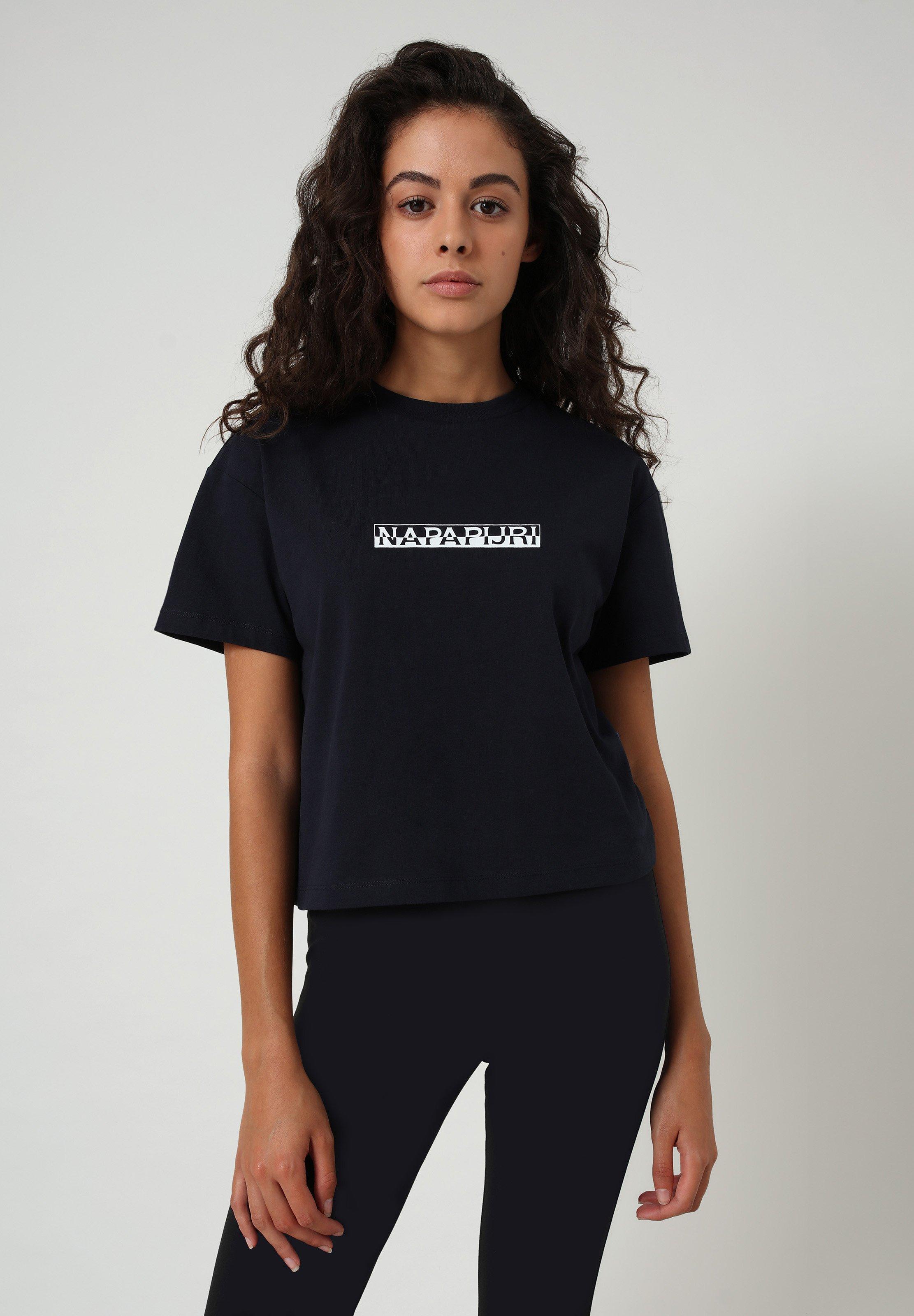 Damen S BOX CROPPED - T-Shirt print