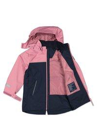 Polarn O. Pyret - Waterproof jacket - heather rose - 2