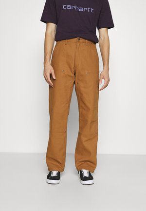 UTILITY PANT - Trousers - brown duck