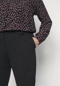 Pieces Curve - PCFIE PANTS - Trousers - black - 4