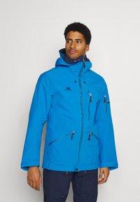 State of Elevenate - MENS BACKSIDE JACKET - Ski jacket - blue - 0