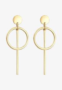 Elli - HÄNGER GEO  - Earrings - gold-coloured - 1