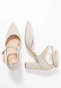 Anna Field - LEATHER CLASSIC HEELS - High heels - grey - 3