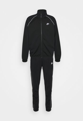 SUIT SET - Sportovní bunda - black/white