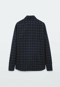 Massimo Dutti - SLIM FIT - Shirt - dark blue - 6