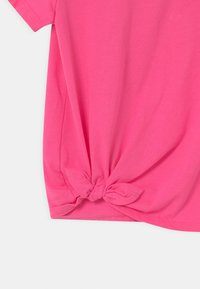 Abercrombie & Fitch - TIE DETAIL - T-shirts print - neon pink - 2