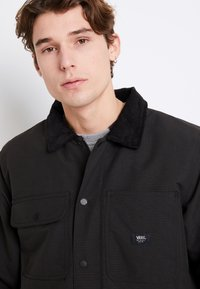 Vans - DRILL CHORE COAT - Light jacket - black - 5
