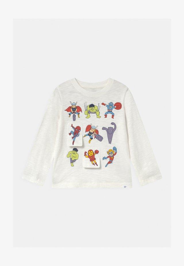 TODDLER BOY FLIPPY GRAPHIC - Långärmad tröja - new off white