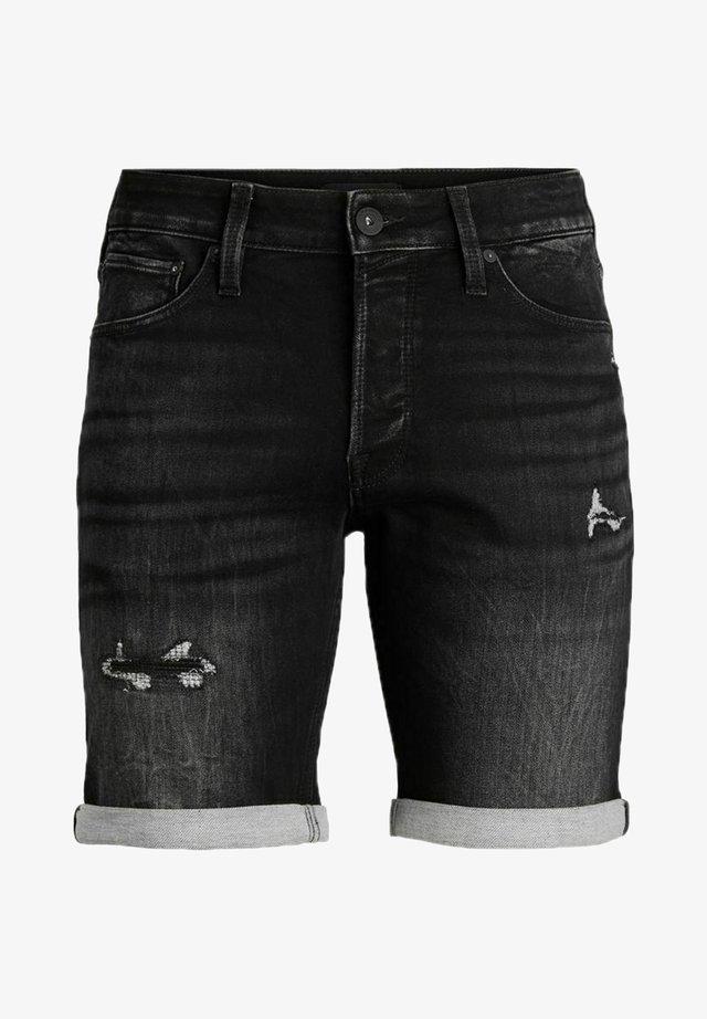 Jeans Short / cowboy shorts - black denim