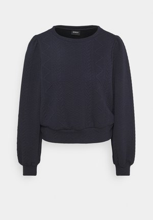 ONLCABLE O-NECK - Long sleeved top - night sky