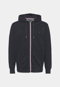 Tommy Hilfiger - CORE ZIP HOODIE - Zip-up sweatshirt - desert sky - 4