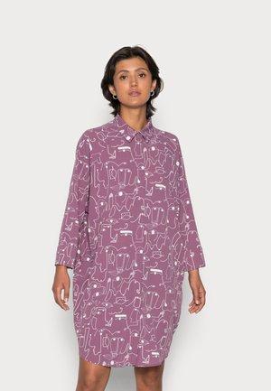 MOA RAGLAN SHIRTDRESS - Košilové šaty - lilac
