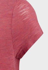 adidas Performance - Camiseta estampada - pink - 7