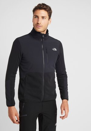 GLACIER PRO FULL ZIP - Fleecetakki - black