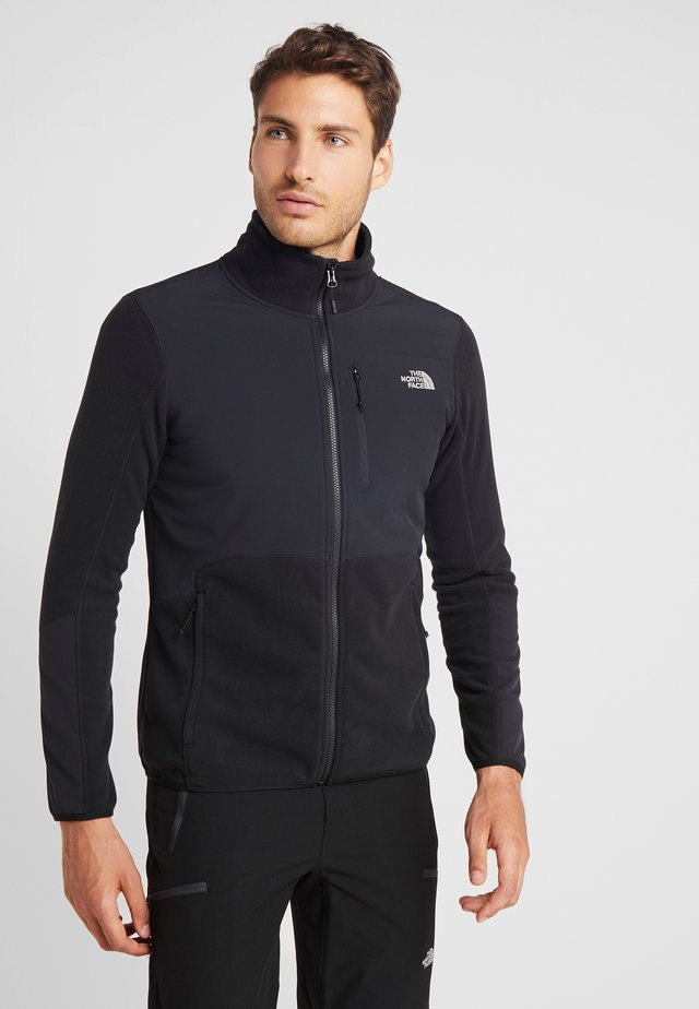 GLACIER PRO FULL ZIP - Fleece jacket - black