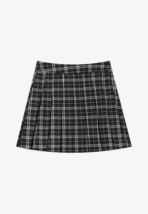 KARIERTER - A-snit nederdel/ A-formede nederdele - white