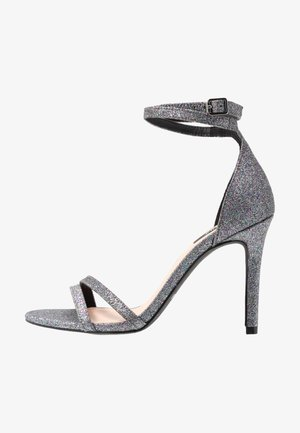 ONLAILA WRAP - Korolliset sandaalit - black