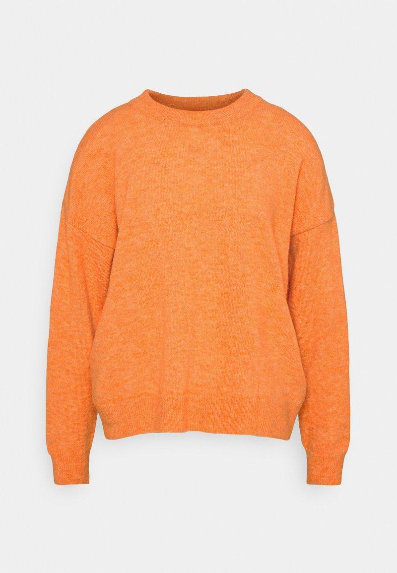 More & More - Pullover - orange dust