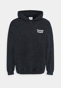 OVERDYE FLOW HOODIE - Sweatshirt - black