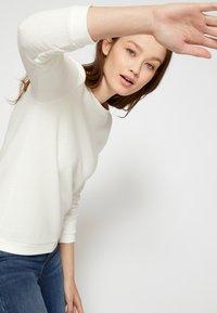 TOM TAILOR DENIM - Sweatshirt - off white - 4