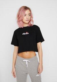 Ellesse - FIREBALL - Print T-shirt - black - 0