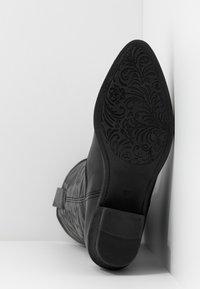 mtng - TEO - Cowboy/Biker boots - black - 6