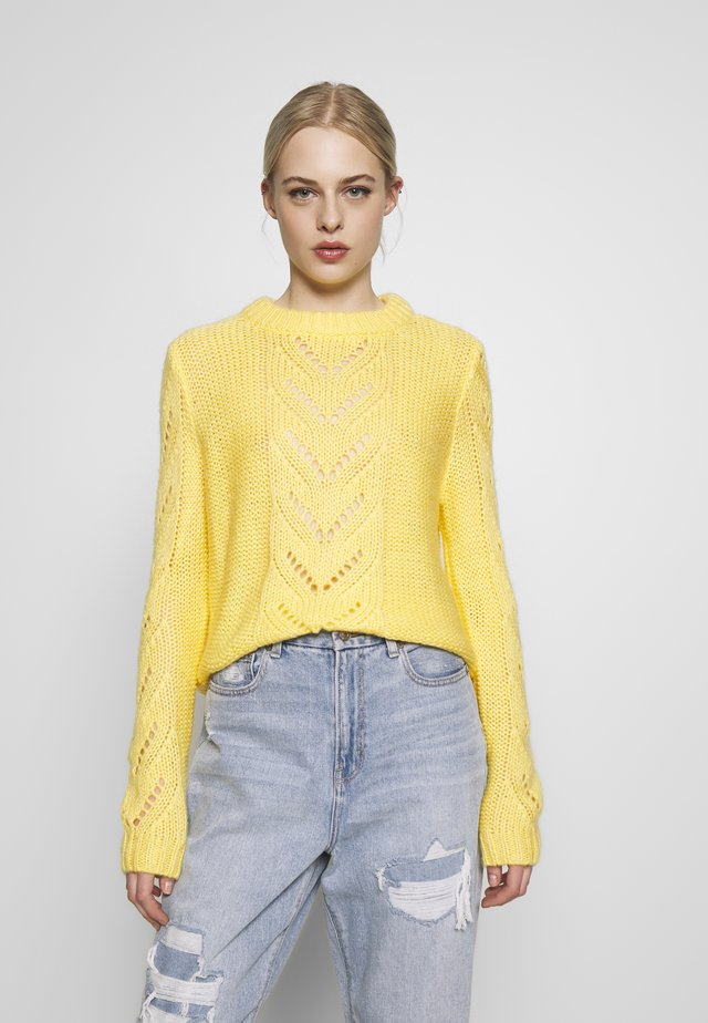 Pullover - lemon drop