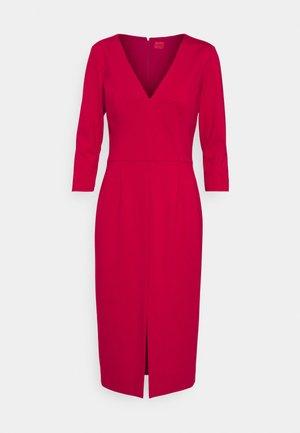 KALAYLA - Shift dress - dark red