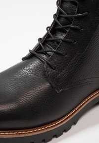 Shoe The Bear - POLAR - Lace-up ankle boots - black - 5