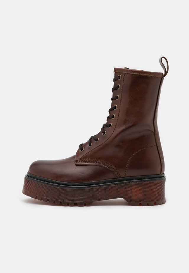 ROSSO - Platform ankle boots - marron