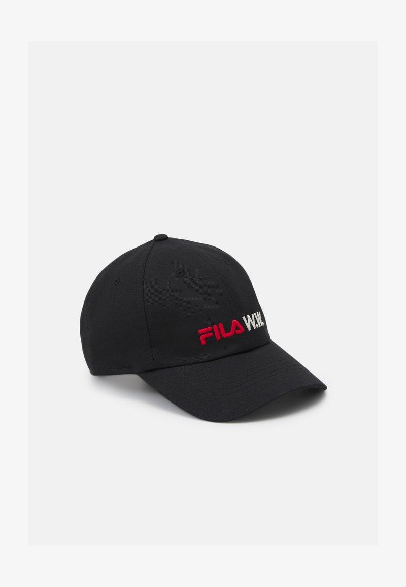 Fila - GUSTAVO LOW PROFILE UNISEX - Cap - black beauty