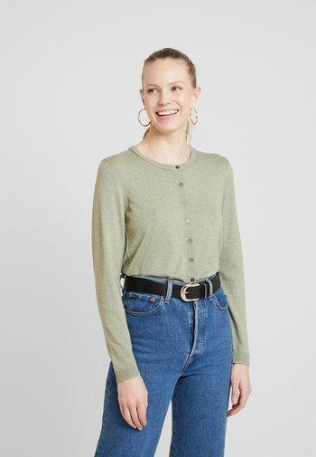 BASIC - Cardigan - khaki green