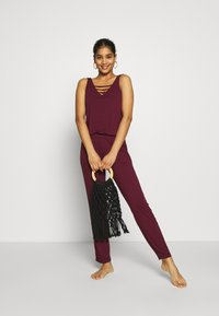 s.Oliver - OVERALL - Beach accessory - bordeaux - 1