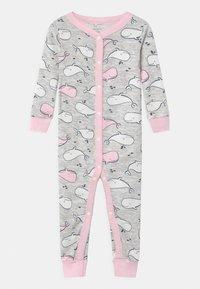 Carter's - WHALE SNAPS - Pyžamo - white/light pink - 0