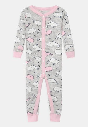 WHALE SNAPS - Pyjamas - white/light pink