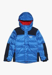 Jack Wolfskin - MOUNT COOK JACKET KIDS - Winterjacke - coastal blue - 0