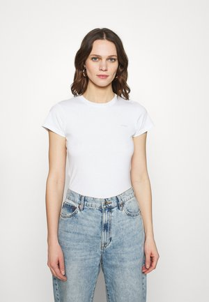SCRUNCHIE TEE - Basic T-shirt - white
