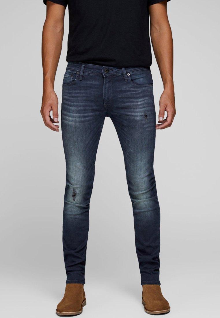 Jack & Jones - LIAM  - Jeans Skinny Fit - blue denim
