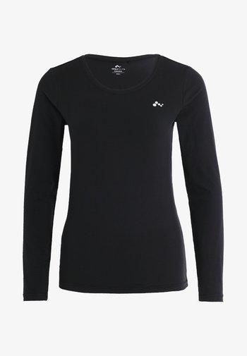 ONPCLARISSA TRAINING TEE - Sports shirt - black