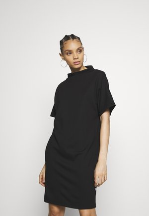 JOOSA FUNNEL - Jersey dress - black