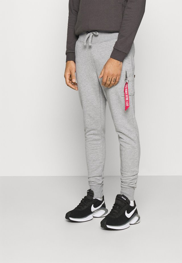 PANT - Trousers - grey heather