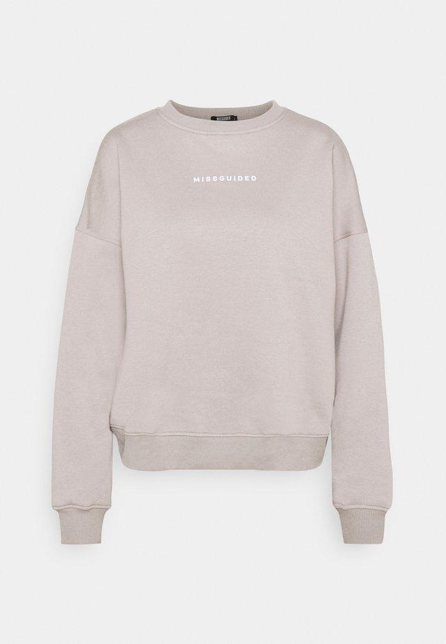 BASIC OVERSIZED - Bluza - grey