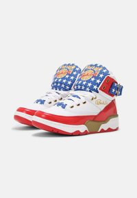 Ewing - 33 HI USA 4TH OF JULY - Baskets montantes - white/blue/gold - 1