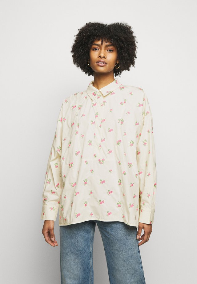 SORIA - Overhemdblouse - cloud cream